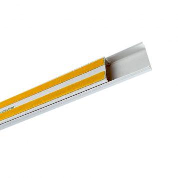 Cablecanal plastico 30x12mm c/adhesivo sin tabique tp-3012a-bl-st blanco tira x 2metros