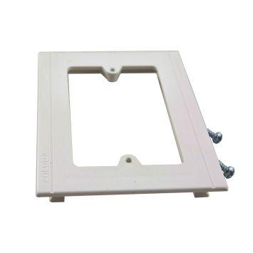 Accesorio p/cablecanal unicanal ckd soporte bastidor bajo btks-100-50 blanco