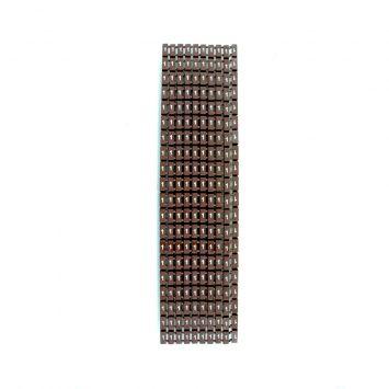 Anillo identificador omega p/cables de 4-6mm icab-03/0-c numero 1 marron x caja
