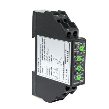 RELE CONTROL FASE MONITOREO TENSION TRIFASICO SIN NEUTRO 280 A 480VCA P/RIEL DIN
