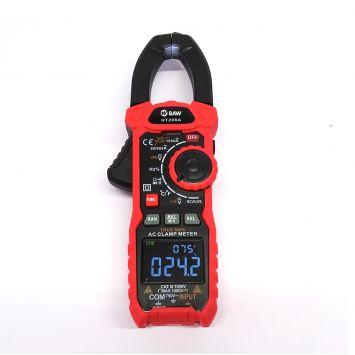 Pinza amperometrica 1 rms para corriente alterna 60a/600a/1000a