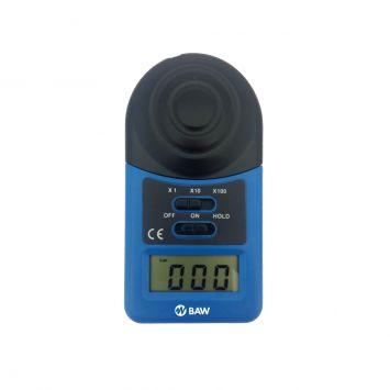 Luxometro sensor inocrporado rango 1-20000 lux