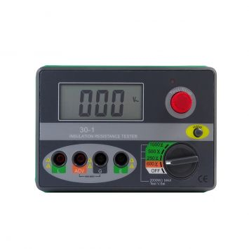Meghometro digital hasta 1000v /  2 g ohms + display lcd